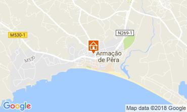 Map Armação de Pera Apartment 114726