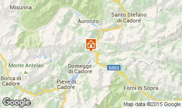 Map Auronzo di Cadore Apartment 59917