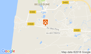 Map Quend Plage Mobile home 115785
