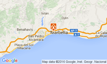 Map Marbella Apartment 104200