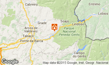 Map Arcos de Valdevez Self-catering property 62019