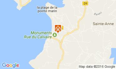 Map Sainte Anne (Martinique) Apartment 67787