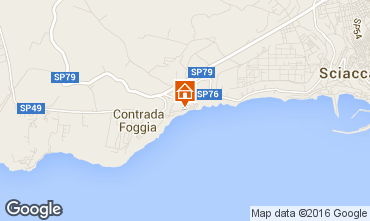 Map Sciacca Apartment 62083