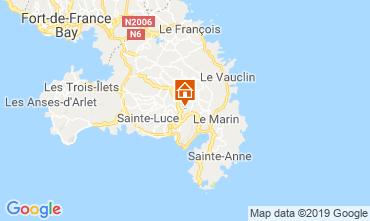 Map Sainte Luce Apartment 114516