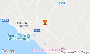 Map Ugento - Torre San Giovanni Villa 118710