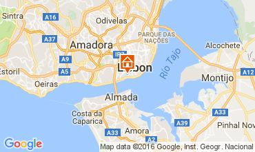 Map Lisbon Apartment 106237