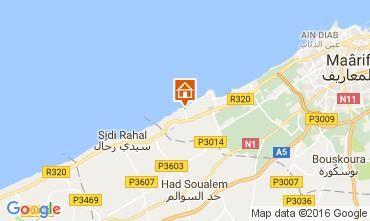 Map Casablanca Apartment 106856