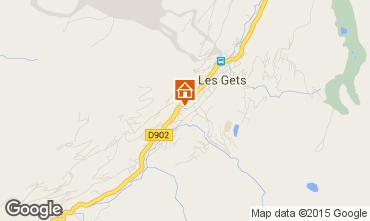 Map Les Gets Apartment 67586