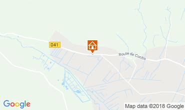 Map Saint-Julien-en-Born Mobile home 116423