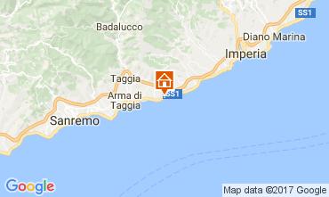 Map Santo Stefano al Mare Studio apartment 57081
