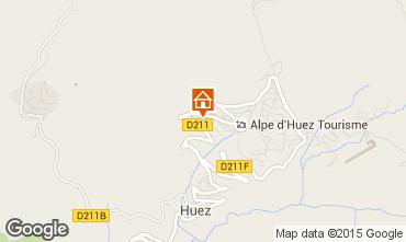 Map Alpe d'Huez Chalet 108