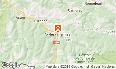 Map Ax Les Thermes Apartment 52894