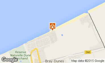 Map Bray-Dunes Apartment 93449