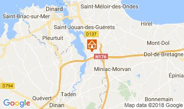 Map Saint Malo House 68641