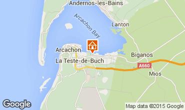 Map Arcachon Mobile home 74826