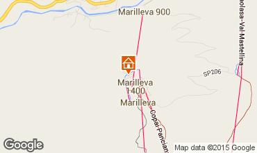 Map Marilleva Flat 74355