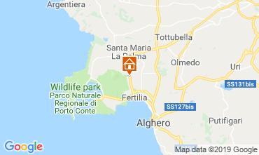 Map Alghero Apartment 77894