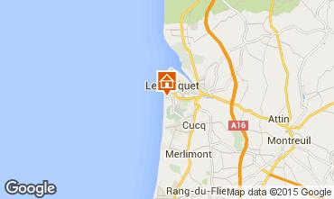 Map Le Touquet Apartment 7751