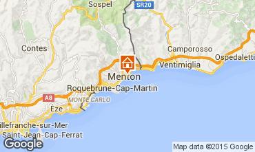 Map Menton Studio apartment 26501