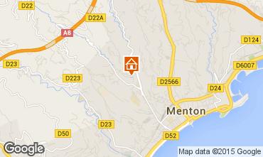 Map Menton Apartment 96725