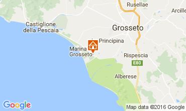 Map Principina a Mare Apartment 74532