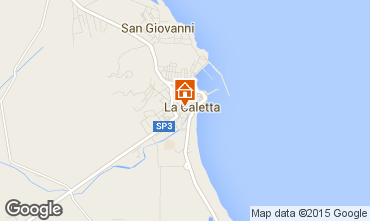 Map La Caletta Apartment 18017