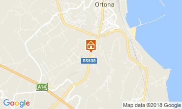 Map Ortona Apartment 115644