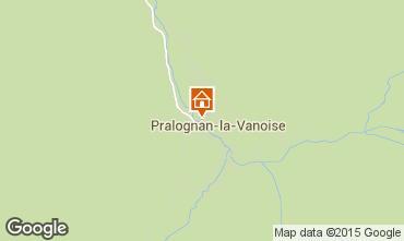 Map Pralognan la Vanoise Apartment 89173