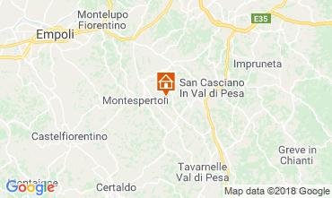 Map Montespertoli Bungalow 115969