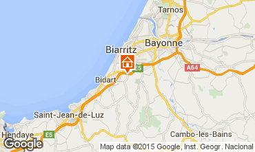 Map Biarritz Flat 89089