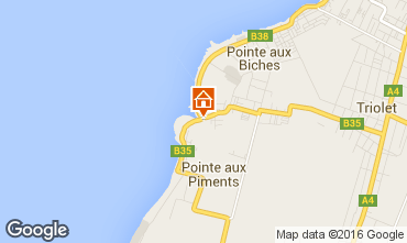 Map Pointe Aux Piments Apartment 48721