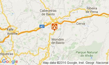 Map Celorico de Basto Self-catering property 64269
