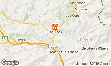 Map Samoëns Self-catering property 99943