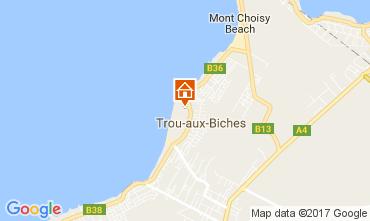 Map Trou-aux-biches Villa 100486