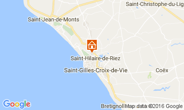 Map Saint Hilaire de Riez Mobile home 107395
