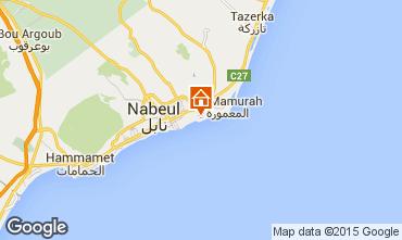 Map Nabeul Villa 71689