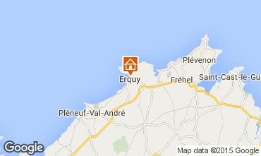 Map Erquy Apartment 72189