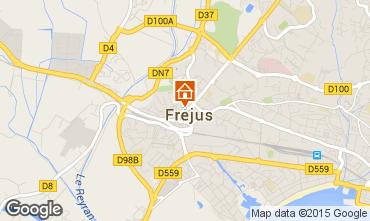 Map Fréjus Mobile home 8476