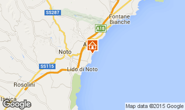 Map Noto Villa 84770