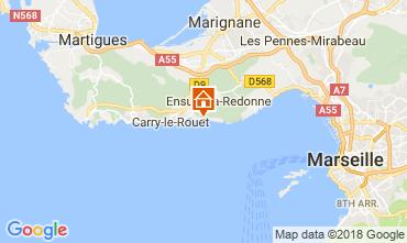 Map Ensues La redonne Apartment 113503