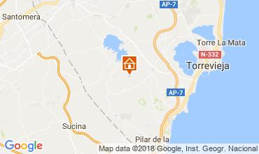 Map Alicante Apartment 114022