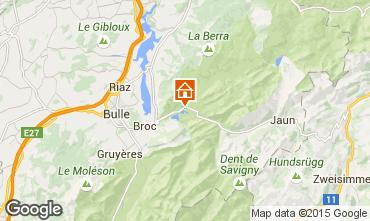 Map Charmey Chalet 4805