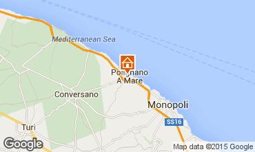 Map Polignano a Mare Apartment 60990