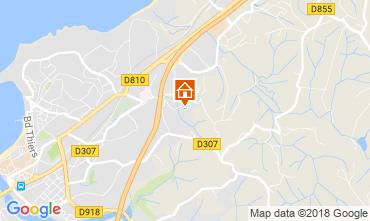 Map Saint Jean de Luz Apartment 114633
