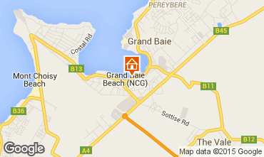 Map Grand Baie Apartment 58505