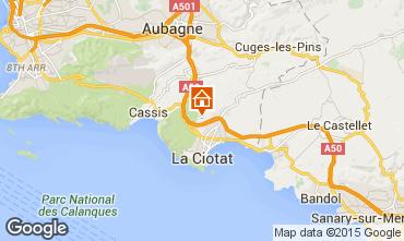 Map La Ciotat Villa 5926