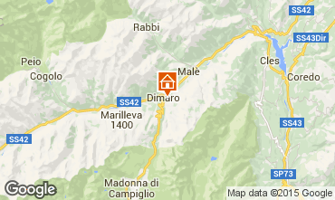 Map Dimaro Apartment 74973