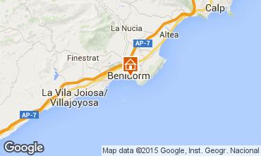 Map Benidorm Apartment 69891