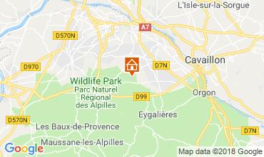 Map Saint Rémy de Provence Self-catering property 98340