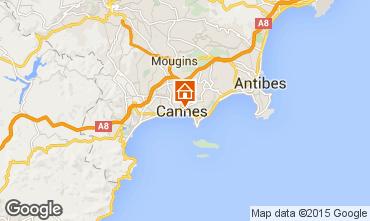 Map Cannes Studio apartment 33342